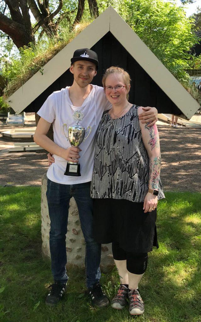 2018 SINGELCUPEN Mattias & Anna