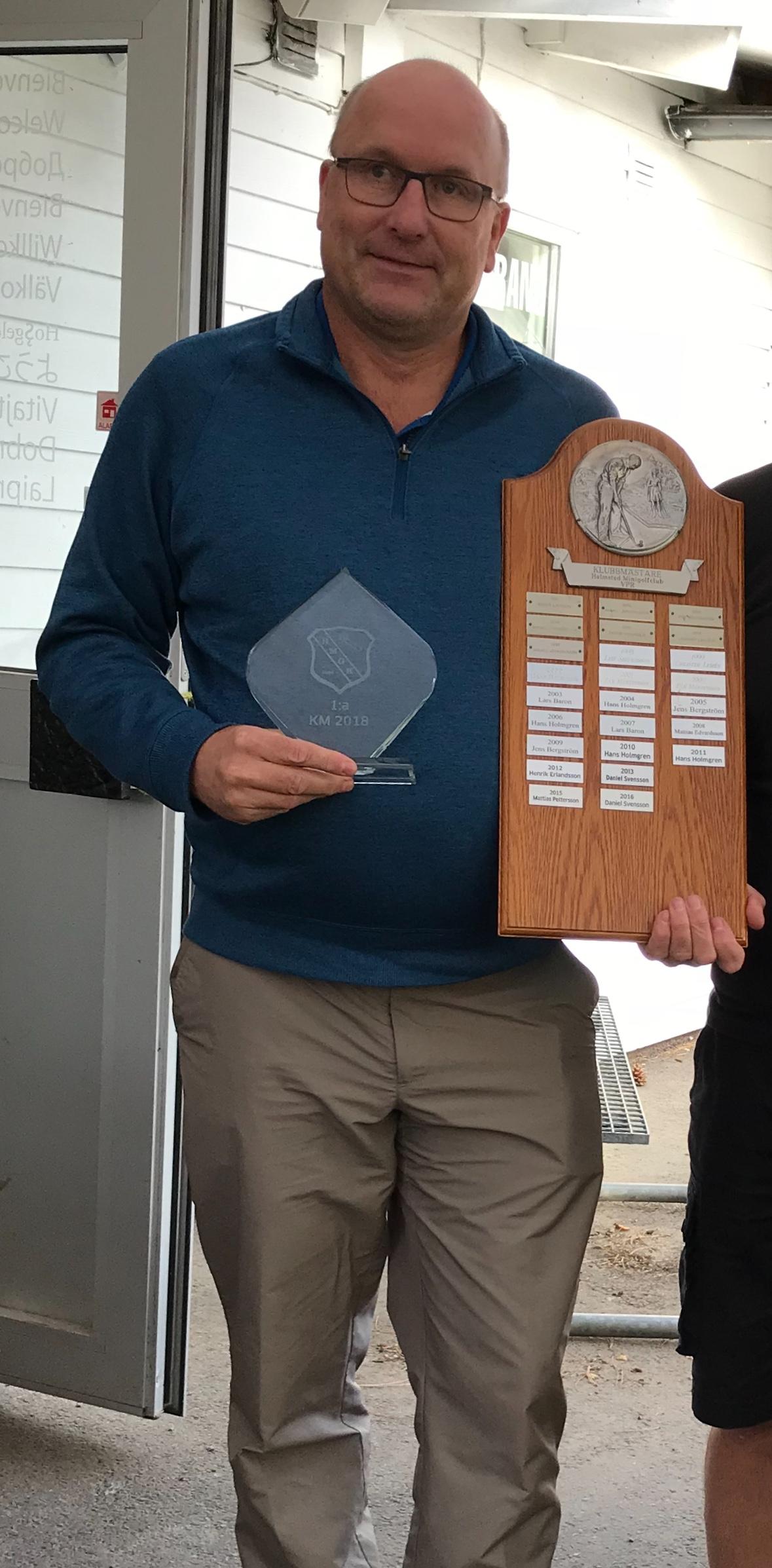 Magnus klubbmästare 2018